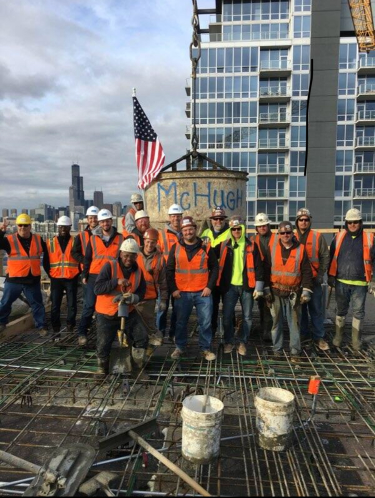 TOPPING OUT 123